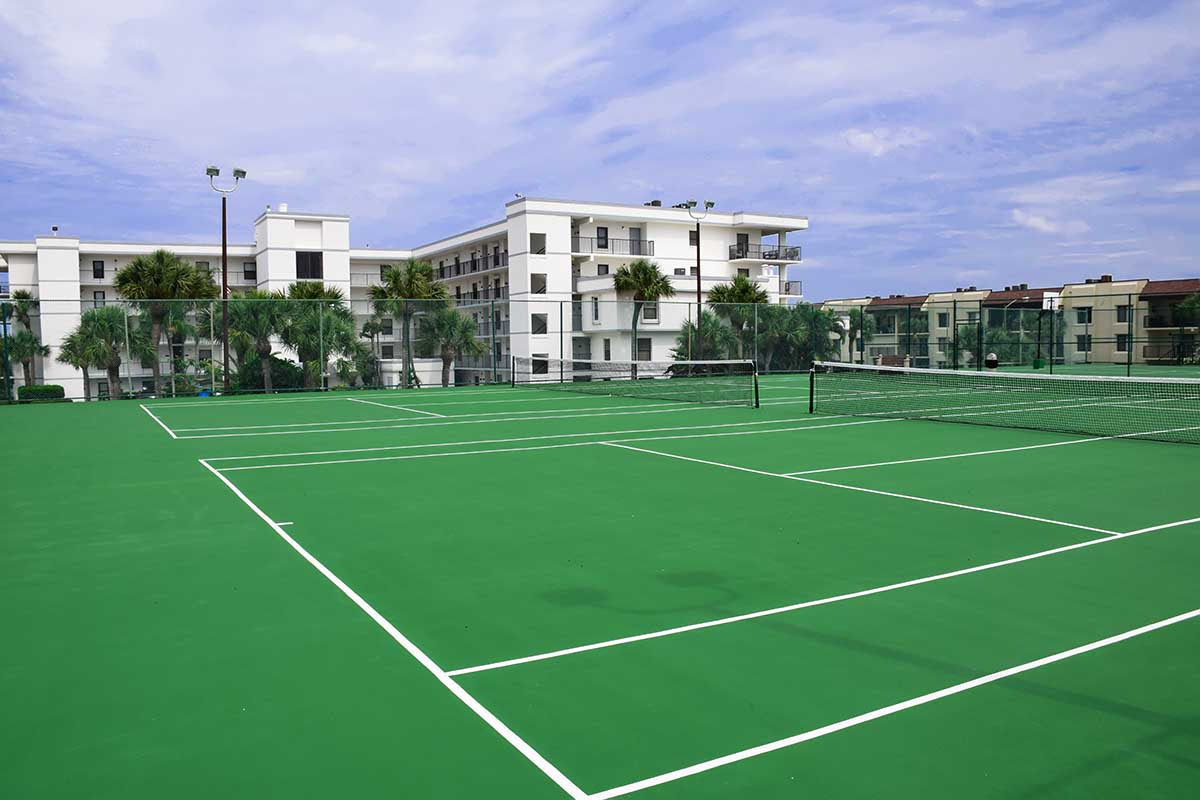 cape winds resort tennis courts