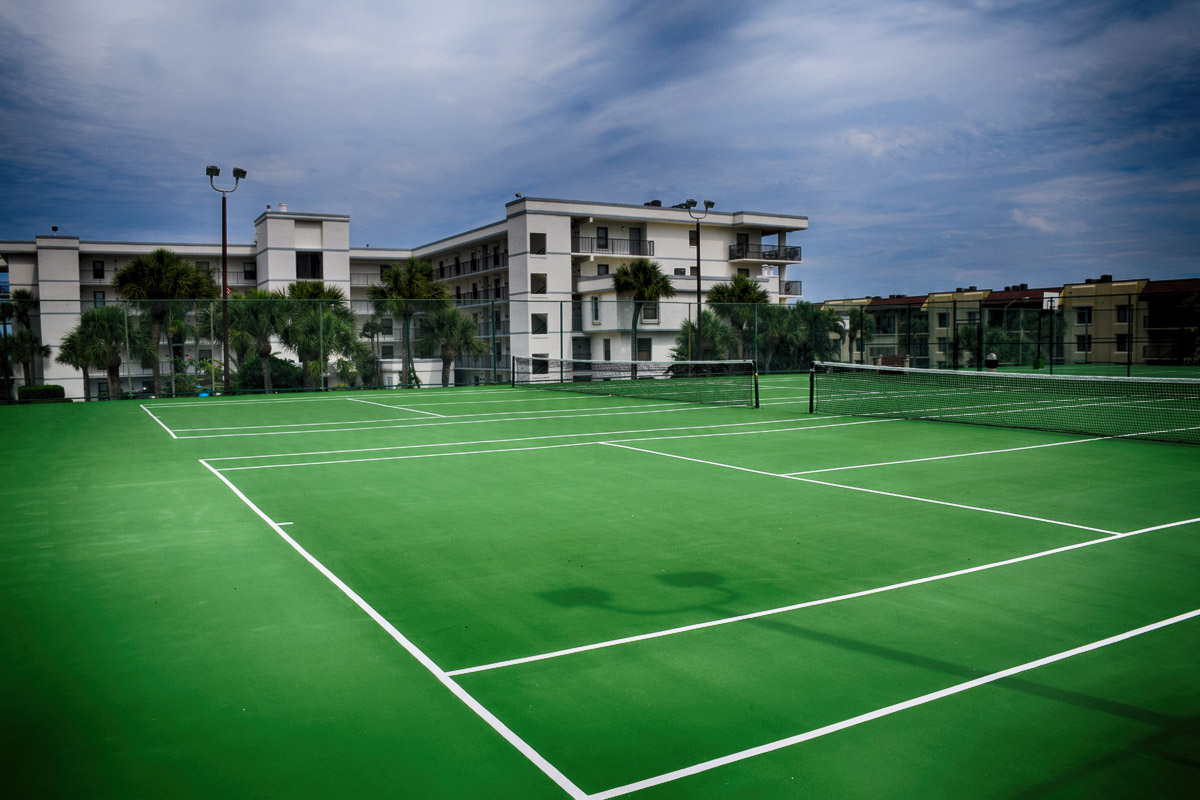 tennis courts cape winds resort FL