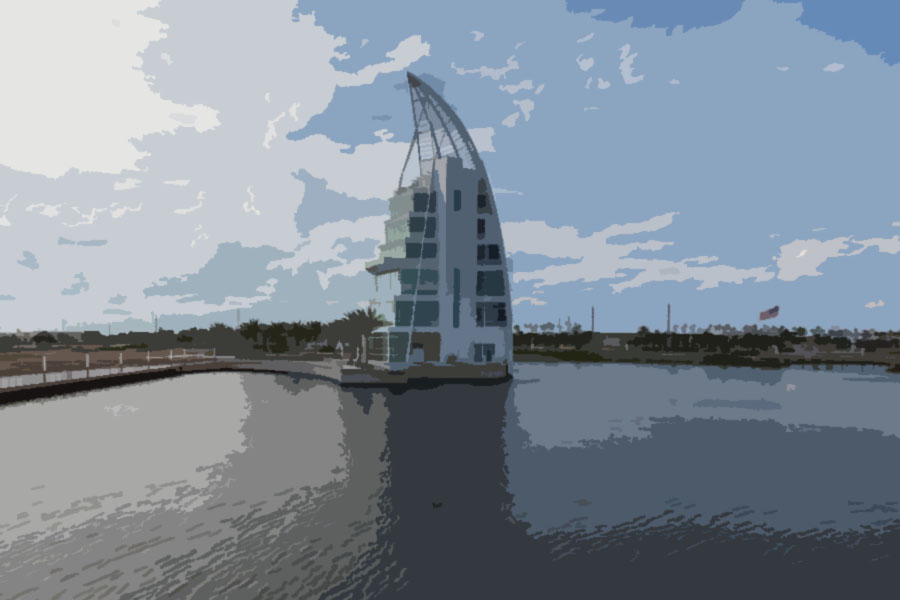 Exploration Tower in Cape Canaveral